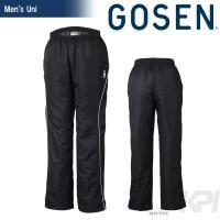 GOSEN(ゴーセン)「UNI ユニ ウィンドウォーマーパンツ(裏起毛) Y1504」テニスウェア「...