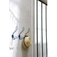 <商品説明> アンティーク調のお洒落なアイアン製壁掛けフックです。帽子やバッグ、小物を掛けておくのに...