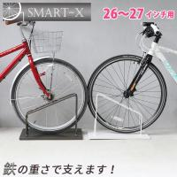<商品説明> アイアン製自転車スタンドです。 強風対策にもなりますので、玄関やガレージに自転車を置く...