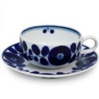【商品名】白山陶器 ブルーム ティーカップ&ソーサー 230ml  (Tポイント15倍)(領...