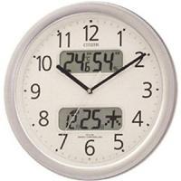 ・デジタル温湿度計・カレンダー付電波時計 ・電池交換お知らせ機能付 ・夜眠る秒針機能付