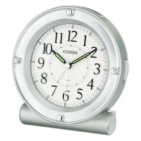 ・クオーツめざまし時計  ・電子音アラーム(4段階 小<大)  ・ライト付