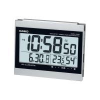 ・電波時計、ダブル電子音アラーム  ・2つの時刻をセット可、毎日・平日・土日から選択可  ・温度/湿...