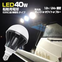 水深40m以浅の夜焚きに!!  ■作業灯・集魚灯にも使える LED船舶用電球 ■12v/24v兼用 ...