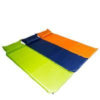 エアーマット 枕付 自動空気吸入 シングル キャリーバック付 180cm×60cm 厚2.5cm  ...