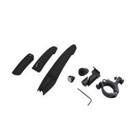 マットガード 泥よけ 自転車 汎用 前後3点セット LED テールライト 7色  クロスバイク マウ...