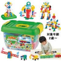 遊び方無限のニューブロックはお子様の創造性を刺激します。●発売50周年を迎え柔らかくて大きいから組み...