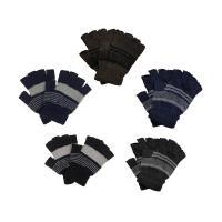 指なしボーダー手袋 MST1302|ktworld