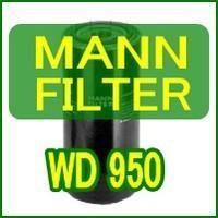 MANN-FILTER: Hydraulic Spin-on Filter WD950互換品 MAN...