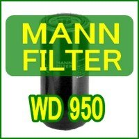 MANN-FILTER: Hydraulic Spin-on Filter WD950 MANN フ...