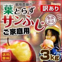 「葉とらずサンふじ」は手間のかかる葉とらず栽培で育てた、りんご本来の甘さを堪能できる絶品りんごです♪...
