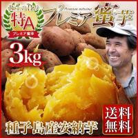 安納芋(あんのういも・ 安納いも)さつまいも  鹿児島 種子島産 産地直送 送料無料 プレミア蜜芋3kg  贈答用 ギフト可 グルメ