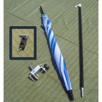 カーボンシャフト製の、軽いへらパラソルの万力セットです。このセットに、パラソルに角度を付けて使える...