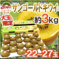 【送料無料】大玉!「zespri ゴールドキウイ」とっても甘〜くて酸味が少なく食べやすい♪酸っぱいの...
