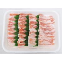 "【送料無料】""豚バラ 焼肉用"" 約1kg (約500g×2pc)|kurashi-kaientai|04"