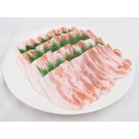 "【送料無料】""豚バラ 焼肉用"" 約1kg (約500g×2pc)|kurashi-kaientai|06"