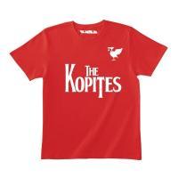 プレミアリーグ人気クラブのユニフォームをモチーフにしたオリジナルTシャツ。 ホームシャツカラーとコー...