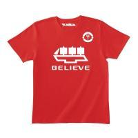 プレミアリーグ人気クラブのユニフォームをモチーフにしたオリジナルTシャツ。ホームシャツカラーとコーデ...