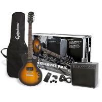 ●フライトケース風パッケージのオフィシャル入門セット エピフォンでギター始めるなら絶対このセットがお...