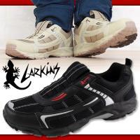 ・トカゲのロゴが特徴的なLARKINS(ラーキンス)のスリッポンシューズ!スリッポンタイプなので脱ぎ...