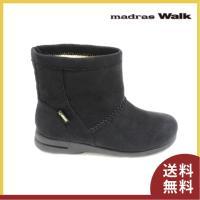 ■商品概要■ madras walk マドラスウォーク ショートブーツ 2064 色:ブラック アッ...