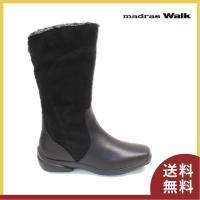 ■商品概要■ madras walk マドラスウォーク 完全防水ブーツ 3E 2074 色:ブラック...