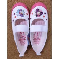 映画・DVDなどでお馴染みのディズニー・キャラクター「ミニーマウス」の上履き/スクールシューズです。...