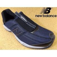 メンズ スニーカー かかと踏める靴│人気ブランド「ニューバランス」のスリッポンタイプのスニーカーです...