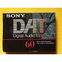 SONY DAT 60分テープ/DT-60RA(未開封新品) ・1個:1,980円です ***他店に...