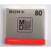 SONY ソニーMDディスク 80分(MDW80T)×5巻単位(新品)です ・発送は5枚(1単位)ま...