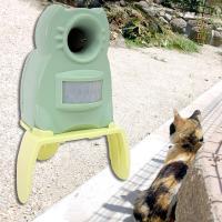 野良猫の被害を防ぎます!効果絶大!! 猫よけ・猫退治・猫撃退・野良猫対策に「ガーデンバリアミニ」 猫...