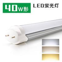 【特徴】●電気工事なしで既存の40W型蛍光灯器具にそのまま取り付け可能なグロー式です。●消費電力18...