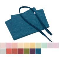 夏用の帯揚げ帯締めセットです。 優しい発色、素朴な風合い、上品な紋紗が素敵な帯揚げと、涼しげな正絹の...