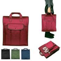 (着物バッグ 紬)日本製 着物バッグ レディース あづま姿 つむぎ織り 和装バッグ 着物収納バッグ 無地(zr)