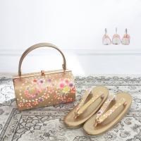 ■《振袖用 草履バッグセット》 ・成人式や卒業式等の晴れの日の装いにぴったりの草履とバッグのセット商...