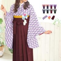 《はいからさん二尺袖袴セット》 二尺袖着物、当店オリジナル袴、当店オリジナル袴下帯の基本3点セット。...