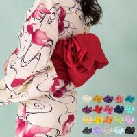 (兵児帯 しわ)  浴衣 帯 兵児帯 大人 へこ帯 レディース 20colors(yp)