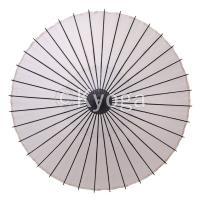和傘 紙傘 尺4 無地 白 継柄 舞踊傘 踊り傘