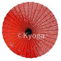 紙舞日傘とは日本舞踊、歌舞伎などに用いられる舞踊傘のことです。 日本舞踊のお稽古用として製作されてお...