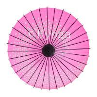 和傘 紙傘 こども用和傘 桜渦 ピンク 特選飾り糸 一本柄 舞踊傘 踊り傘