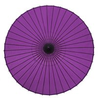 和傘 絹舞傘 無地 紫 継柄 舞踊傘 踊り傘