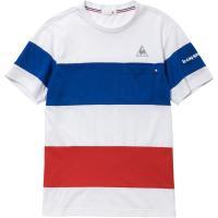 le coq sportif ルコック 半袖シャツ メンズ QB010573 ホワイト