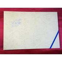 A3 クリーム(虹箔文字入り)表紙 50枚収納用 賞状ファイル 通知簿 図画 半紙 保管 収納