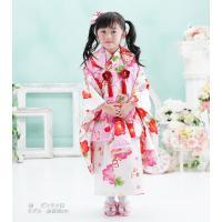 七五三 着物 3歳 フルセット 購入 きもの 被布セット セット 3歳用 子供 女の子 こども お祝い着 着物 襦袢 草履|kyotorurihinagiku|12