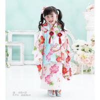 七五三 着物 3歳 フルセット 購入 きもの 被布セット セット 3歳用 子供 女の子 こども お祝い着 着物 襦袢 草履|kyotorurihinagiku|14