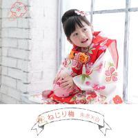 七五三 着物 3歳 フルセット 購入 きもの 被布セット セット 3歳用 子供 女の子 こども お祝い着 着物 襦袢 草履|kyotorurihinagiku|03