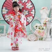 七五三 着物 3歳 フルセット 購入 きもの 被布セット セット 3歳用 子供 女の子 こども お祝い着 着物 襦袢 草履|kyotorurihinagiku|04