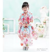 七五三 着物 3歳 フルセット 購入 きもの 被布セット セット 3歳用 子供 女の子 こども お祝い着 着物 襦袢 草履|kyotorurihinagiku|08