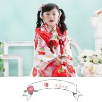 七五三 着物 3歳 フルセット 購入 きもの 被布セット セット 3歳用 子供 女の子 こども お祝い着 着物 襦袢 草履|kyotorurihinagiku|09