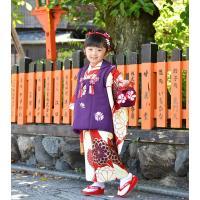 七五三 着物 3歳 フルセット 購入 被布セット 「 紫織(しおり) 」 三歳 3歳用 七五三 三ツ身 お祝い着 縮緬 ちりめん|kyotorurihinagiku|03